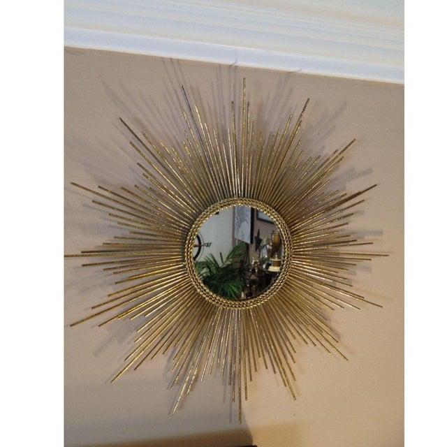 Gold Sun Burst Mirror - Image 3 of 6