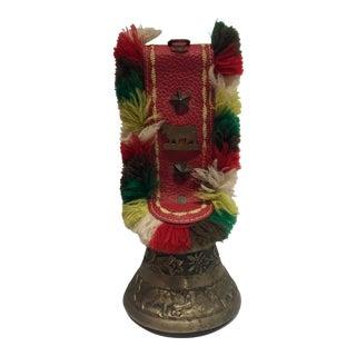 Decorative Vintage Brass Cowbell