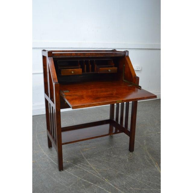 Danner Antique Mission Style Mahogany Slant Lid Writing Desk - Image 10 of 10