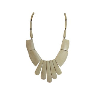 Vintage 1970s Indian Bone Necklace
