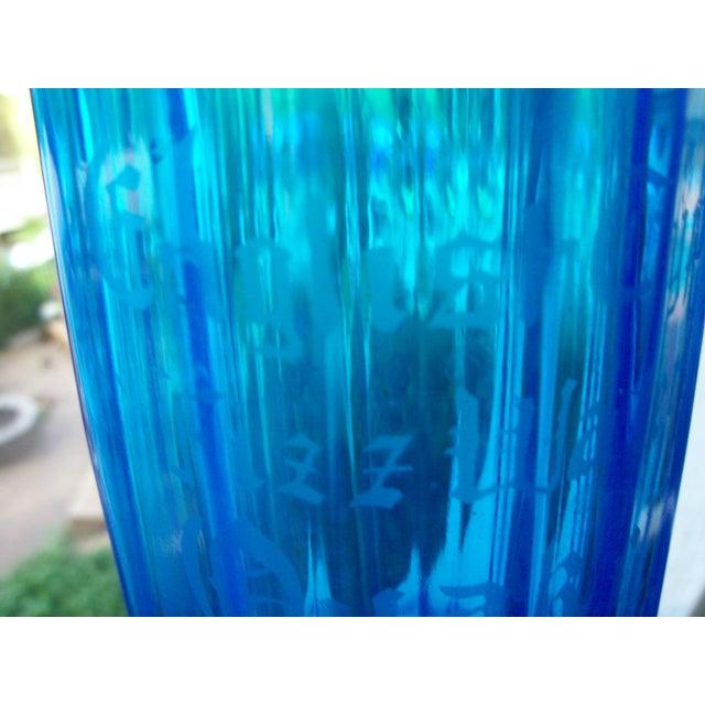 Optic Panel Cobalt Sapphire Seltzer Bottle - Image 5 of 9