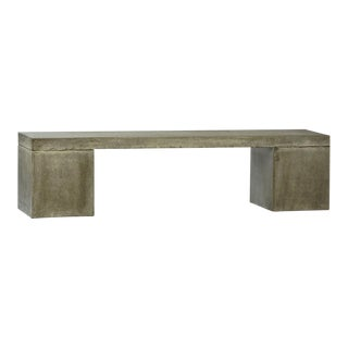Outdoor Cement Resin Block bench