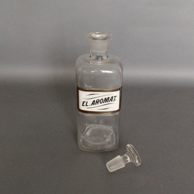 Antique Labeled Apothecary Bottle - Image 8 of 9