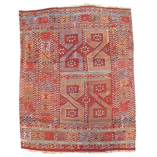 Turkish Jajim Flat-Weave