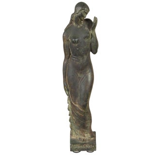 Gladys Lewis Bush Bronze Sculpture