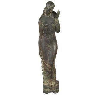 Gladys Lewis Bush Bronze Sculpture
