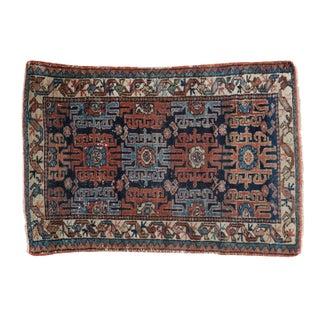 Vintage Persian Lilihan Rug - 2′7″ × 3′10″