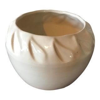 White California Pottery Planter