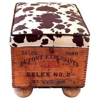 Dupont Explosives Cow Print Seating & Storage