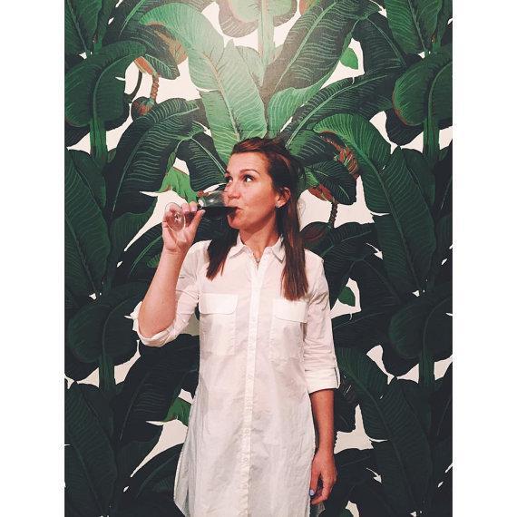 Beverly Hills Hotel Banana Leaf Wallpaper - Image 4 of 5