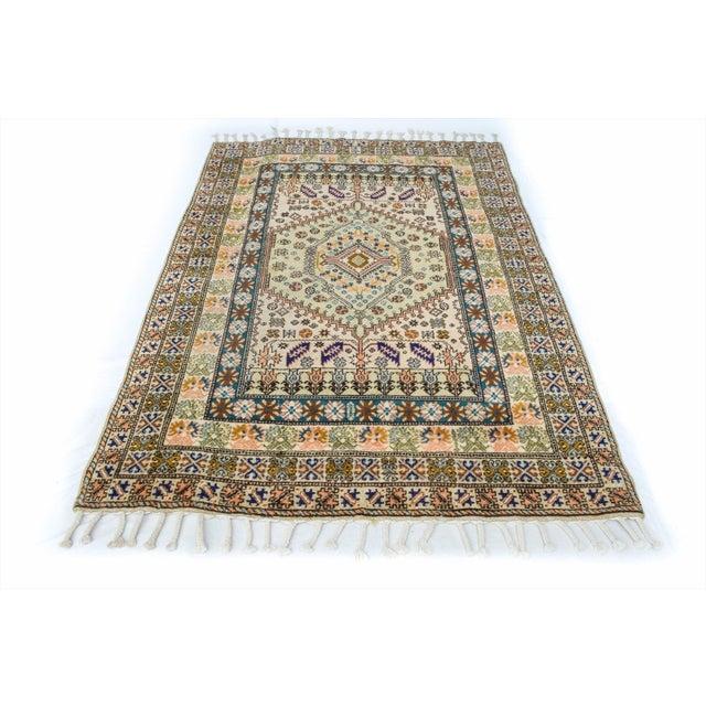 """Vintage Moroccan Rug 'Amina' - 4'9""""x6'8"""" - Image 4 of 6"""