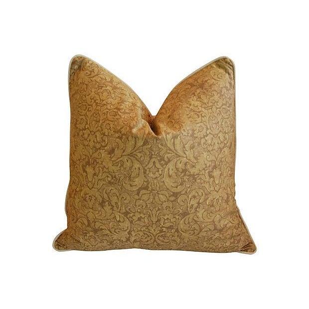 Ralph Lauren Evanston Gold Pillows - A Pair - Image 2 of 7