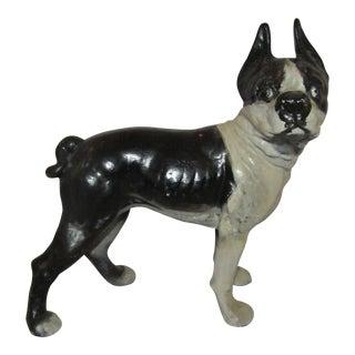 Antique Hubley Terrier Door Stop