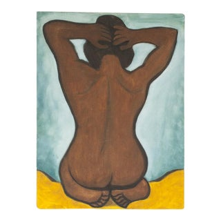Primitive Nude Painting