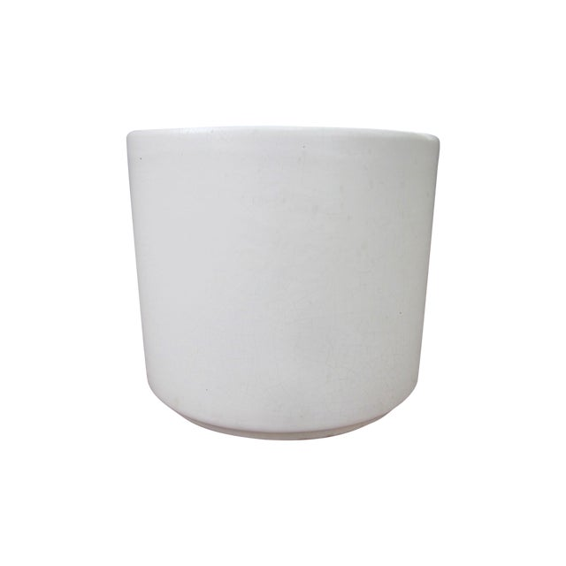 Gainey Architectural Modern Pottery Planter Pot - Image 1 of 6