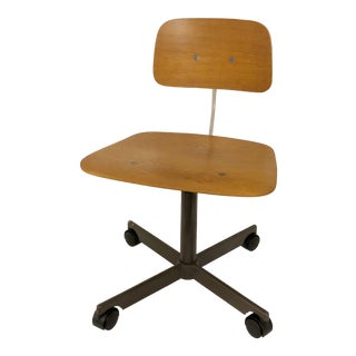 1965 KEVI Mid-Century Modern Rolling Chair