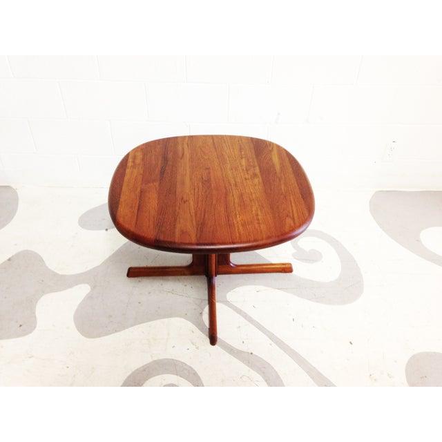 Dyrlund Mid-Century Modern Teak Side Table - Image 4 of 7