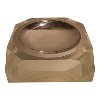 Vintage Art Deco Lucite Ashtray