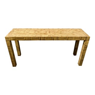 James Mont Style Console Table