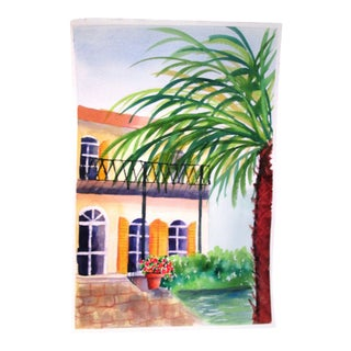 'Afternoon' Watercolor Painting