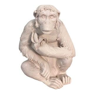 Italian Terra-Cotta Chimpanzee