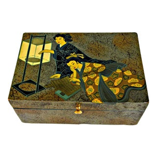 Chinese Motive Trinket Box