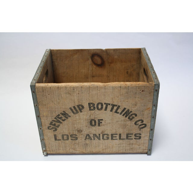 Vintage Wooden 7-Up Crate - Image 5 of 6