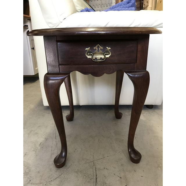 Pennsylvania House Queen Anne Side Table - Image 2 of 6