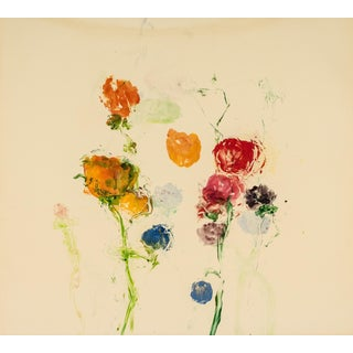 Think of Blooming 6, 2002, Monoprint by Susan Hambleton.