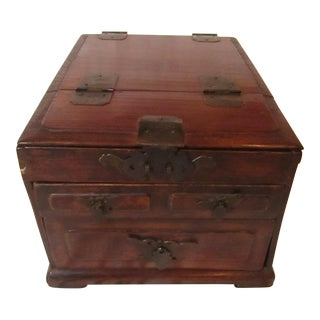 Chinese Wooden Jewelry Box