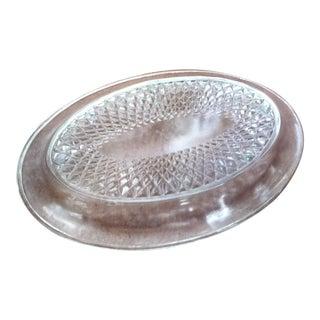 Dimond Cut Butter Dish