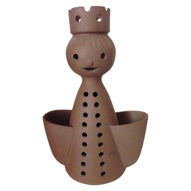 Mid-Century Stoneware Designs Figural Planter - Image 1 of 9