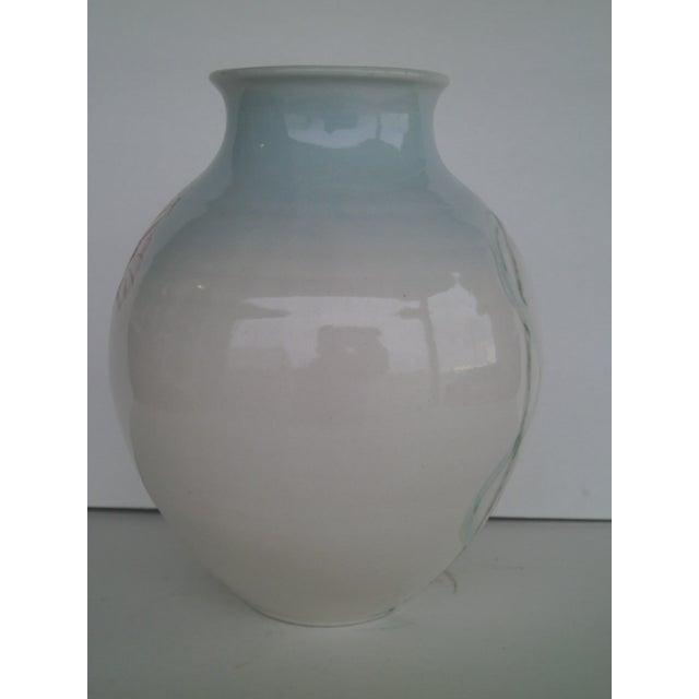 Vintage Art Pottery Vase - Image 4 of 10