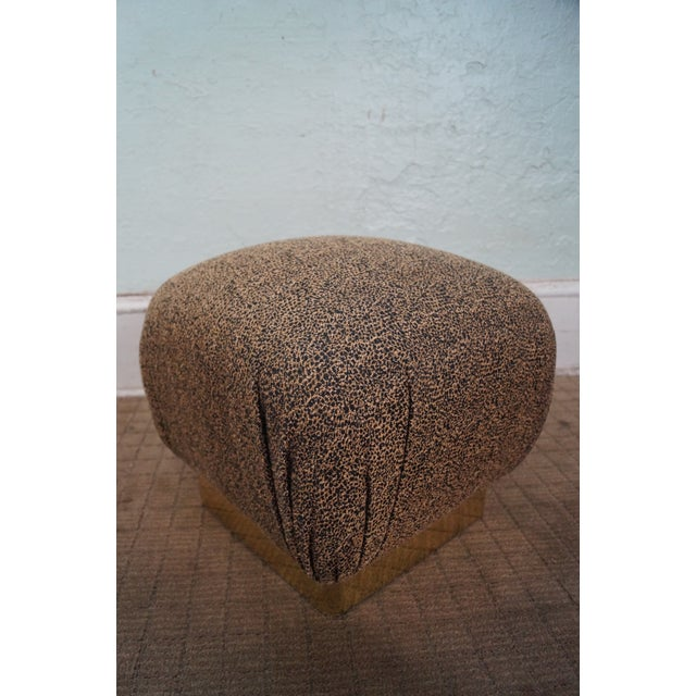 Karl Springer-Style Soufflé Ottomans - A Pair - Image 5 of 10
