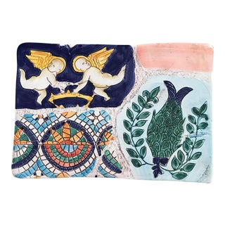 Vintage Italian Vietri Mosaic Box