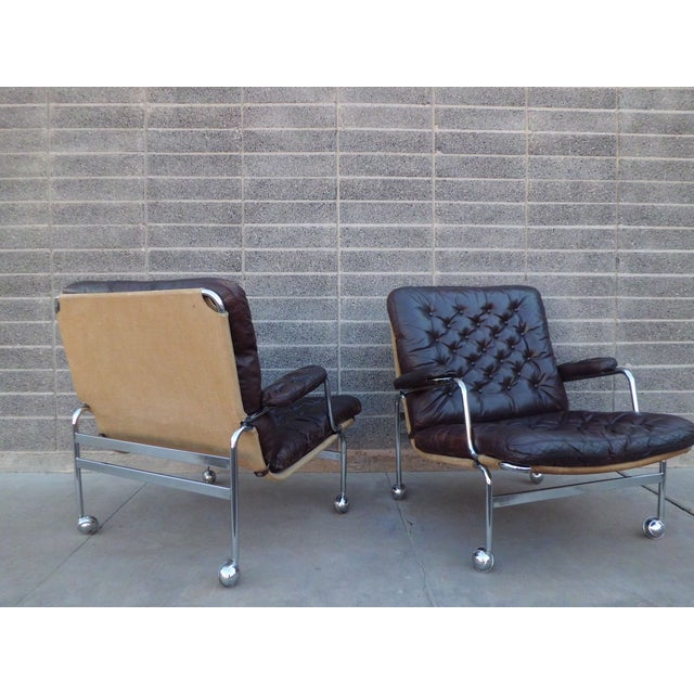 Bruno Mathsson Karin Easy Chairs For Dux Sweden - Image 4 of 8