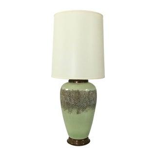 Mid-Century Modern Lamp in Pistachio
