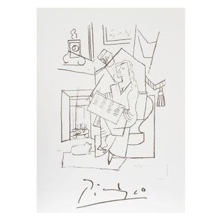 Pablo Picasso -Femme Dans Un Fauteuil Lithograph