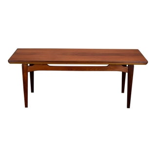 Danish Teak Expanding Coffee Table