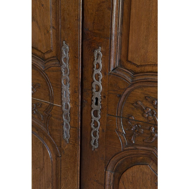French Oak Armoire from Normandy - Image 6 of 10