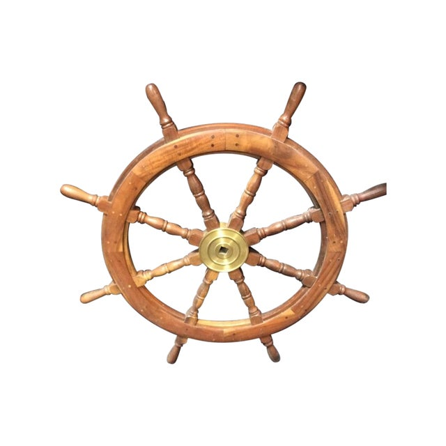 Image of Decorative Ship Wheel