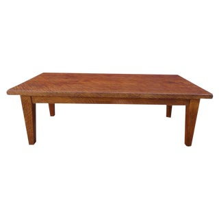 Antique French Coffee Table Bench