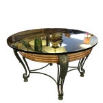 Image of Morgan Hill Glass Topped Cocktail Table