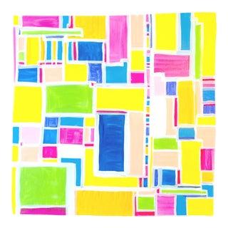 'CROSS TOWN TRAFFiC' original abstract painting by Linnea Heide