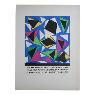 Matisse Mid 20th C Modern Lithograph-Mourlot