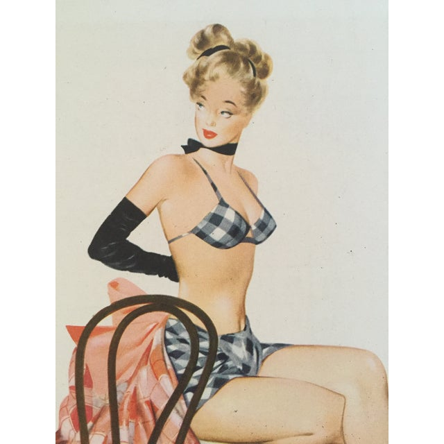 1948 Original Fritz Williams Pin Up Girl - Image 3 of 4