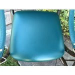 Image of Faux Bamboo X-Base Brass Campaign Chairs - A Pair