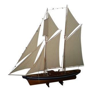 Six Foot Model Sailboat