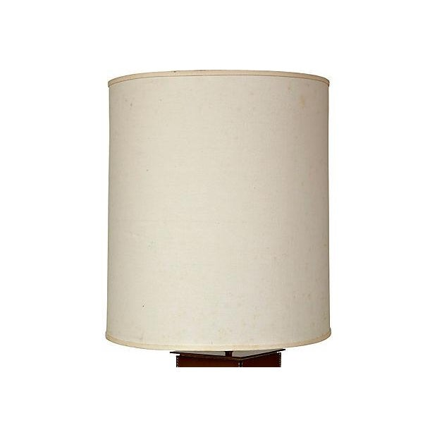 1970's Leather-Based Lamp - Image 2 of 8