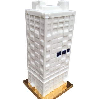 Porcelain Ceramic Building 404 Park Avenue Makkum